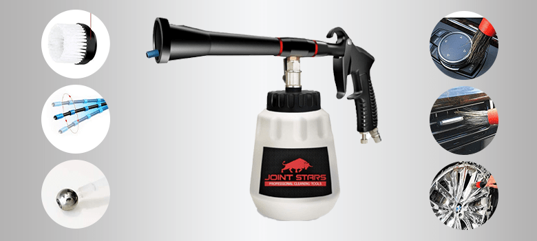 JOINT STARS Premium Black High Pressure Car Cleaning Gun